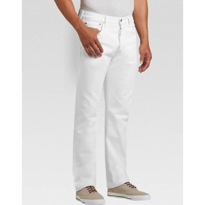 Levi's® 501™ Optic White Classic Fit Jeans - Men's Classic Fit