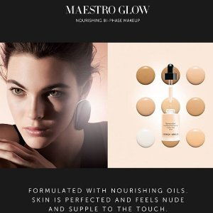 15% Off + 4 Free Deluxe Samples with Maestro Glow @ Giorgio Armani Beauty
