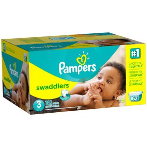 Pampers Swaddlers Diapers, Size 3 (Choose Diaper Count) - Walmart.com
