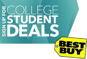 Super save! COLLEGE STUDENT DEALS @ Best Buy