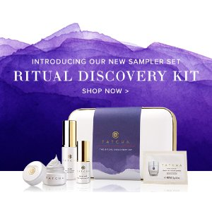 Ritual Discovery Kit | Skincare Sample and Trial Set | Tatcha