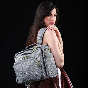 $124.58包邮时尚又实用,Ju-Ju-Be Legacy系列 B.F.F. 百变妈咪包,尼罗河女王款