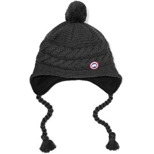 Maple cable-knit merino wool beanie | Canada Goose