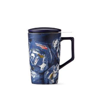 Blue Floral Infuser Mug | Teavana