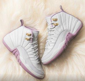 $160 Air Jordan 12 GS Plum Fog @ Nike Store