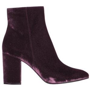 (2) purple Plain Velvet GIANVITO ROSSI Ankle boots - Vestiaire Collective