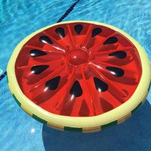 Swimline Watermelon Slice Island Inflatable Raft