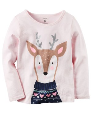 Up to 60% Off + Extra 25% Off $40 Baby and Kid's T-Shirt @ Carter's