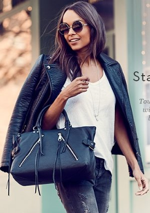 Up to 50% OffRebecca Minkoff 2017 Styles + Extra 25% Off for New Customers + Extra 20% off for current members@Gilt