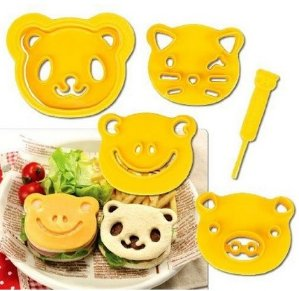 $9.99 CuteZCute Animal Friends Food Deco Cutter and Stamp Kit