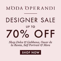Up to 70% OffAquazurra, Burberry, Ellery & More Sale Items @ Moda Operandi