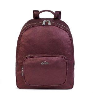 Molly Medium Backpack - Maroon Metallic