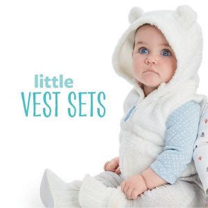 50-60% Off + Extra 25% Off Friends and Family Sale! Baby and Kid's Clothes @ Carter's