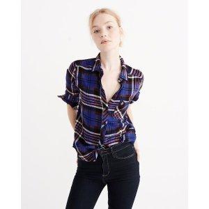 Womens Signature Flannel Shirt