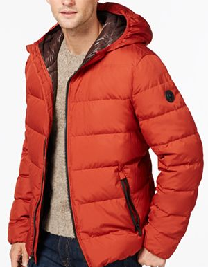 $79.99+ Up to $40 GiftCard MICHAEL Michael Kors Down Packable Jacket Sale @ macys.com