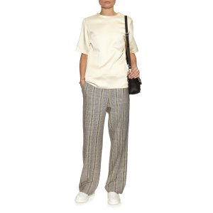 Acne Studio Obel cotton and linen-blend trousers