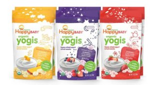 $18.99Happy Baby Organic Yogis Freeze Dried Yogurt and Fruit Snack 6 Piece Variety Pack