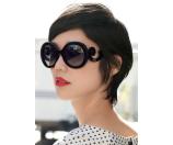 Prada Round Baroque Sunglasses, 55mm | Bloomingdale's