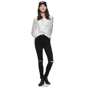 [Luckychouette]  Jacket blouse