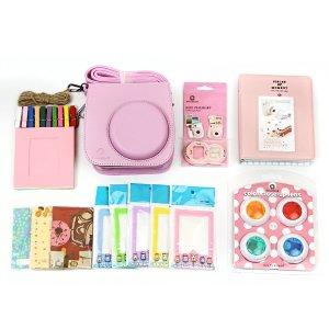 7-Piece Accessory Set for FujiFilm Instax Mini 8 Camera (pink)