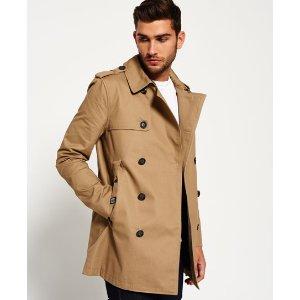 Superdry Winter Rogue Trench Coat - Men's Jackets