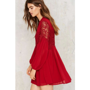 Natasha Lace Mini Dress