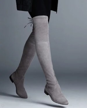 Extended 1 Day! $798 +$200 GC Stuart Weitzman Lowland Suede Over-The-Knee Boot @ Neiman Marcus