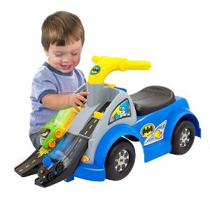 2016 Black Friday! $21.24 Fisher-Price DC Super Friends Batman Gotham Raceway Ride-On