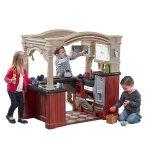 史低!$192.55(原价$274.99) Step2大型豪华走入式儿童玩具厨房套装