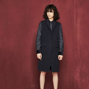 GALAAD Long sleeveless coat - Coats & Jackets - Maje.com