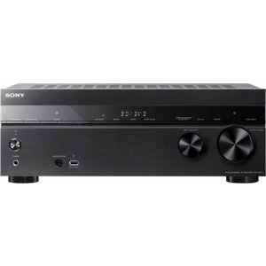 Sony 1015W 7.2-Ch. 4K Ultra HD and 3D Pass-Through A/V Home Theater Receiver Black STRDH770 - Best Buy