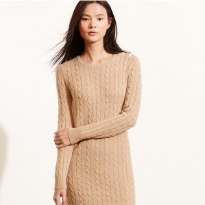 Last Day! Up to 60% Off + Extra 30% Off Women's Sweater Dress @ Ralph Lauren