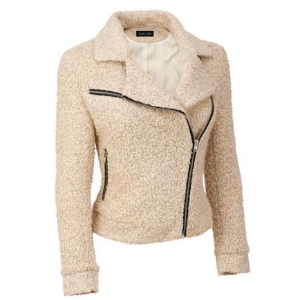 Black Rivet Asymmetric Sweater Cycle Jacket - View All Women's - Clearance - Wilsons Leather