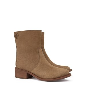 Tory Burch Siena Suede Bootie : Women's View All | Tory Burch