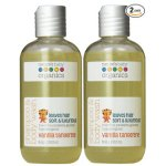 Nature's Baby Organics Shampoo & Body Wash, Vanilla Tangerine, 8-Ounce Bottles (Pack of 2)