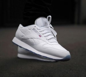 $45.49 Men's Reebok Classic Leather ICE  Casual Shoes @ FinishLine.com