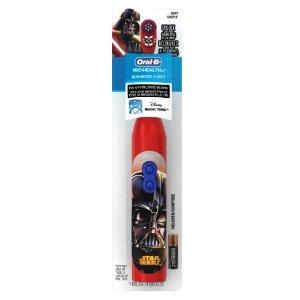 $2.74销量冠军!Oral-B Pro-Health 儿童电动牙刷-星战图案