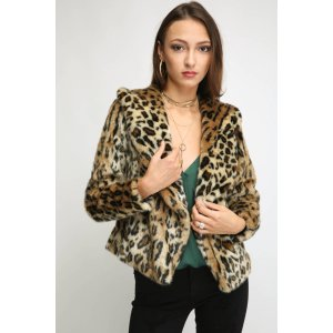 Chaser Leopard Fur Coat | South Moon Under