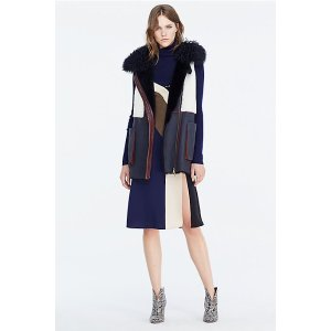 DVF Lyle Shearling Vest | Landing Pages by DVF