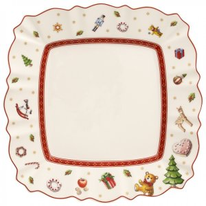 Toy's Delight Square Salad Plate 8.5x8.5 in - Villeroy & Boch