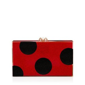 DOTTY PANDORA|CLUTCH BOX|Charlotte Olympia HANDBAGS