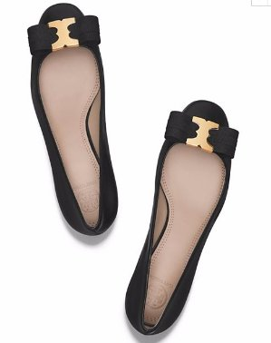 30% Off with Gemini Bow Flat and Pump Orders $250+ and Free Shipping@ Tory Burch