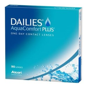 DAILIES AquaComfort Plus 90 Pack Contact Lenses by Alcon - AC Lens