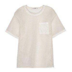 Acne Studios Avre oversized mesh T-shirt