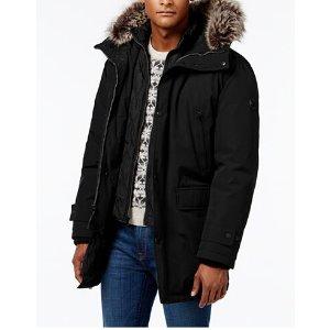 MICHAEL Michael Kors Men's Hooded Bib Snorkel Coat - Coats & Jackets - Men - Macy's