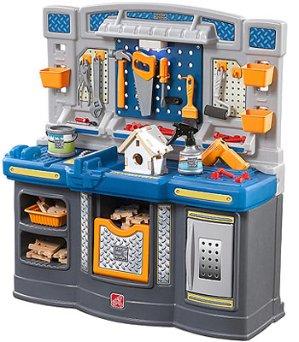 Start!$89.99 Just Like Home Workshop Big Builders Pro Workshop Playset