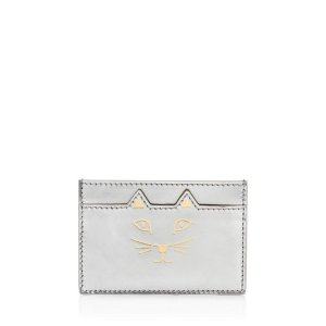 FELINE CARD HOLDER|CARD HOLDER|Charlotte Olympia ACCESSORIES