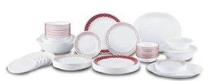 $119.00(原价$189.99)Corelle Livingware餐具74件套