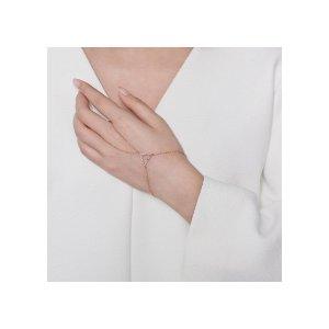 Gold Triangle Hand Chain