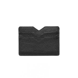 Mackage - WES DOUBLE SIDED LEATHER CARDHOLDER IN BLACK FOR WOMEN BY MACKAGE